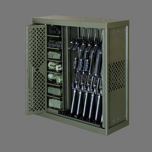 Military Weapons Rack storage