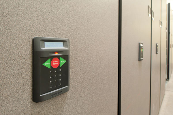 Touchpad access controls with pin access capabilities